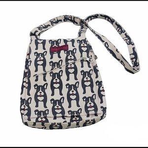 bungalow 360 Canvas Bag Crossbody Purse Dog